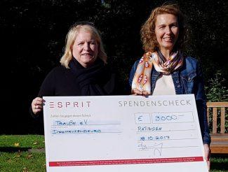 """Modeunternehmen """"Esprit"""" spendet für TrauBe"""