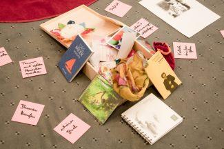 Die Trostkiste: Eine der Methoden, die bei unserem Teamtag von einer unserer Trauerbegleiterinnen vorgestellt wurde.
