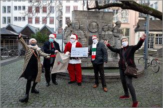 Überraschung am Nikolaustag